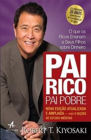 Livro Pai Rico Pai Pobre - Novo