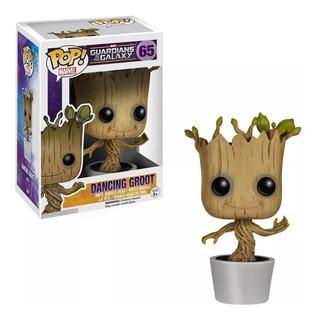 Funko Pop Dancing Groot 65 Guardians Of The Galaxy Original