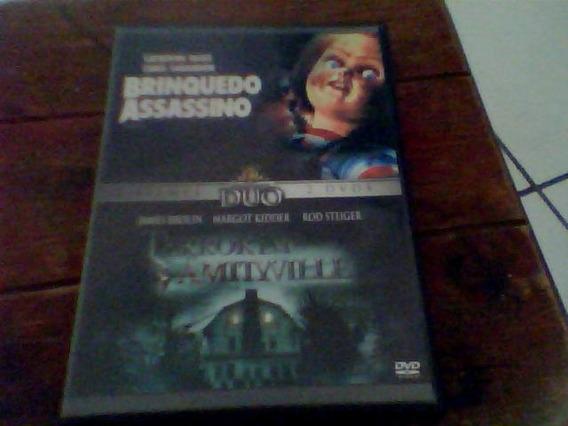 Dvd Brinquedo Assassino E Terror Em Amityville