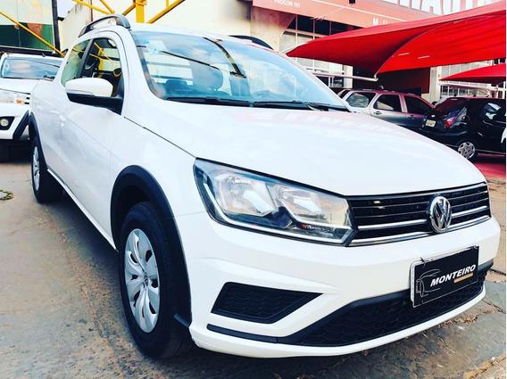 Volkswagen Saveiro Cabine Dupla 2017 - Aceitamos Troca!