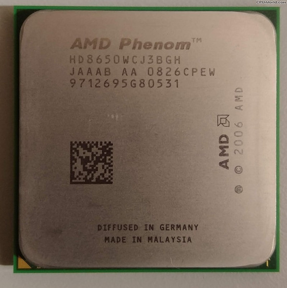 Processador Amd Phenom 8650 Triple Core 2.30ghz Am2