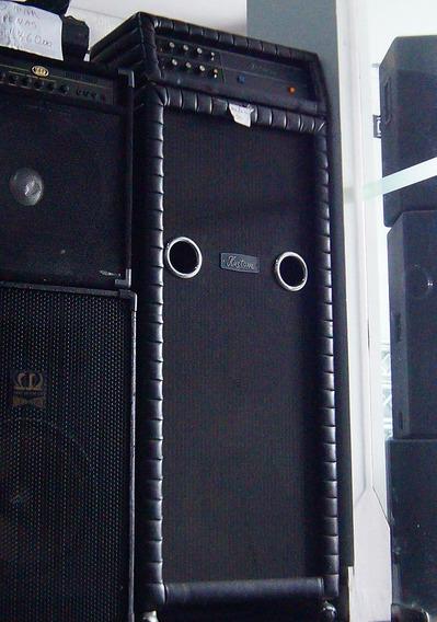 Amplificador Kustom 250 Rarissimo Usado Pelo Ramones!