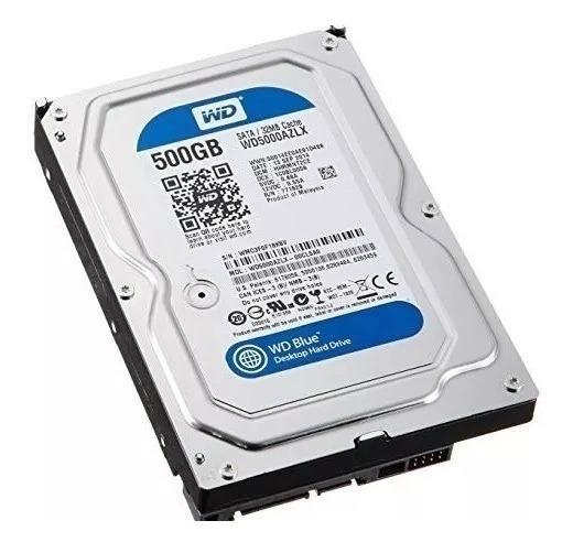 Disco Duro Sata De 500 Gb De 3.5 Para Computadoras De Mesa