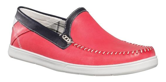 Zapato Mocasin Cuero Hombre Dunlop City Flex 2710