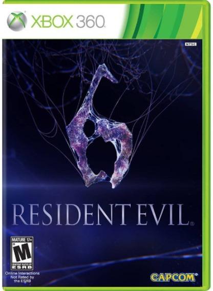 Resident Evil 6 Xbox 360 Original Frete R$12