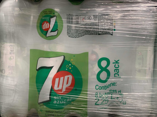 Gaseosa Seven Up Free Pack X 8 2.25