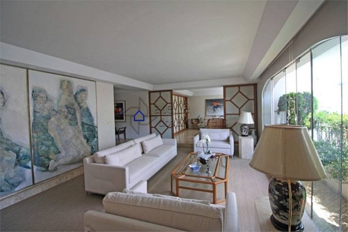 Imagem 1 de 21 de Apartamento No Jardins, Para Venda, Andar Alto, Sendo Um Por Andar, 276 M², 3 Amplas Garagens, 4 Dormitórios - Ap2591at