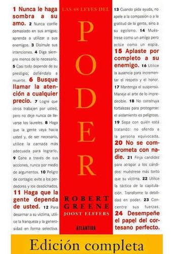 Imagen 1 de 1 de Las 48 Leyes Del Poder (pasta Blanda) Nuevo Y Sellado