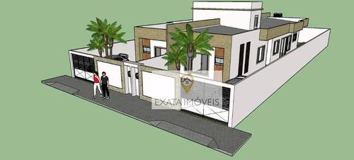 Imagem 1 de 7 de Lançamento! Casas Lineares 03 Quartos, Verdes Mares/ Rio Das Ostras. - Ca1208