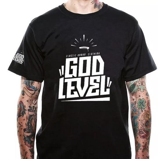 Playera God Level Batallas De Rap