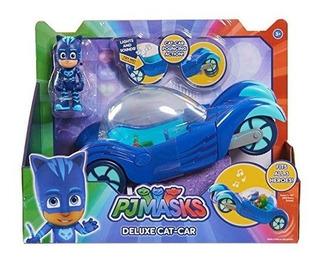 Pj Masks Deluxe Vehículo Cat Boy