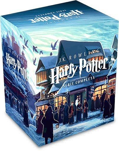 Harry Potter Série Completa Box 7 Livros Rowling Frete Gráti