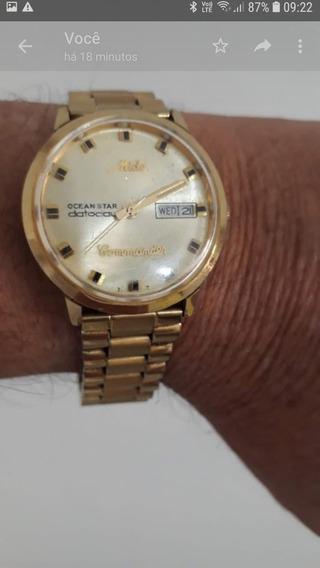 Relógio Antigo Mido Commamder Automático Leia !!!!