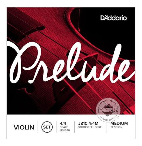 Encordoamento Violino D´addario Prelude J810 4/4