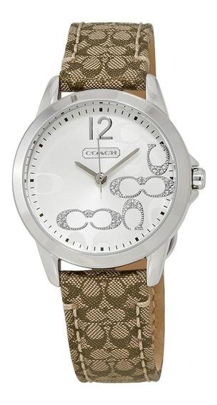 Relógio Coach Feminino Classico Signature 14501620