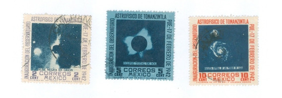 México : Observatorio De Tonanzintla Puebla; 1942 Rm4