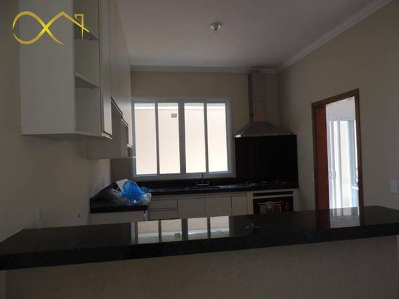 Casa Com 3 Dormitórios À Venda, 180 M² - Condomínio Terras Do Fontanário - Paulínia/sp - Ca1783