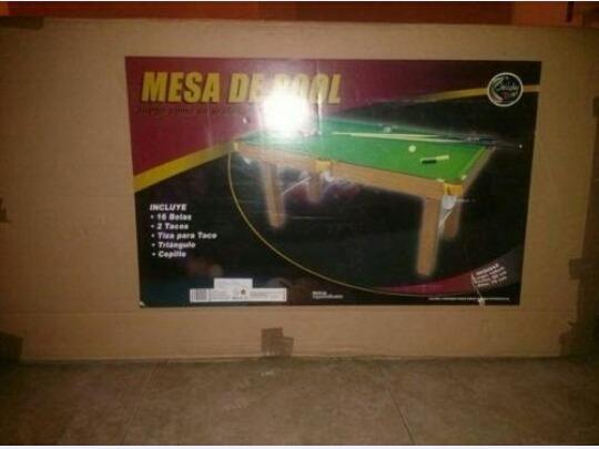 Vendo Mesas De Hockey Air, Mesa De Pool Y Mesa Futbolito