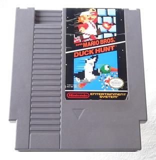 Super Mario Bros Duck Hunt Cartucho Para Nintendo Nes 1985