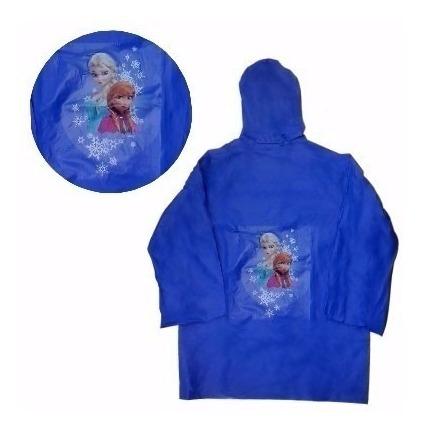 Capa De Chuva Infantil Frozen Produto Original
