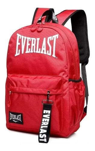 Mochila Everlast 100% Original Antirrobo Urbana Gym Unisex