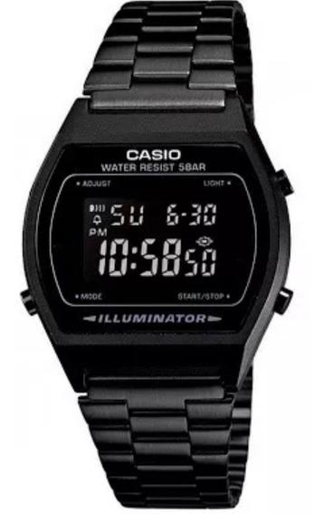 Reloj Casio Negro Mate Black B640w Clasico Oferta