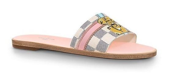 Louis Vuitton Look It FlatMule Azur