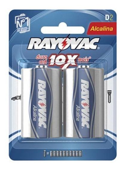 Kit C/ 3 Kit Pilha Rayovac Alcalina Grande Com