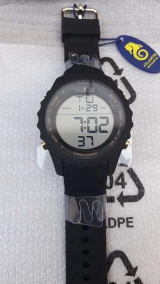 Relógio Atlantis Digital Prova Dágua Modelo A7457