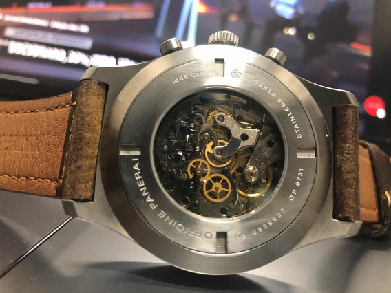 Relógio Militare/ Mecânico 100% Manual / Cronógrafo Full