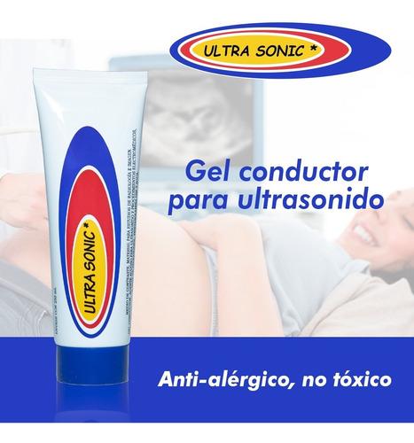 Gel Conductor Ultrasonido Hidrosoluble Ultra Sonic 250 Ml