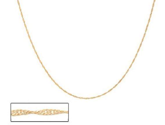 Colar Formado Por Fio Venezia Folheado Ouro Rommanel
