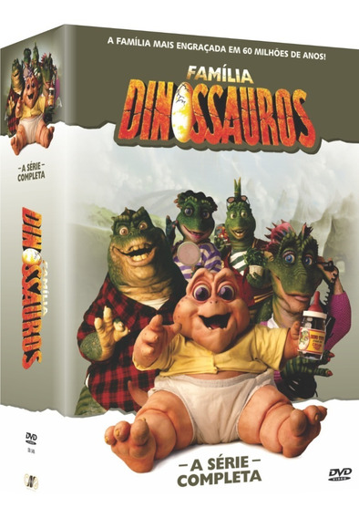 A Família Dinossauros - A Série Completa Dvd Box Original
