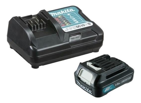 Carregador Dc10wd E 2 Baterias Bl1016 Makita Original