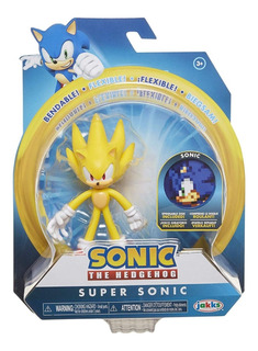 Figura De Super Sonic The Hedgehog