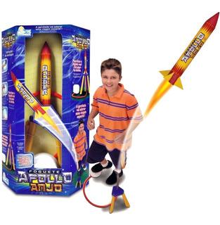 Brinquedo Foguete Apollo Voa De Verdade Brinquedos Anjo