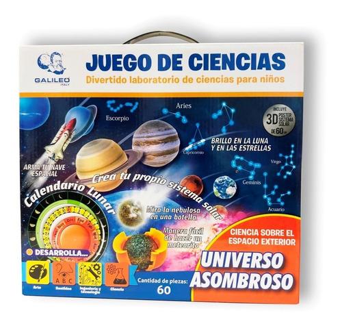 Universo Asombroso Juego De Ciencias Galileo