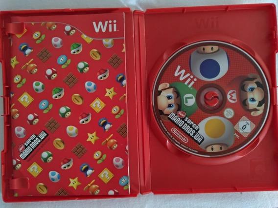Jogo Midia Fisica New Super Mario Bros Para Nintendo Wii Pal
