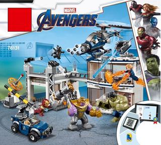 Marvel Compatible Con Lego Avengers Campo De Batalla