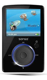Sandisk Sansa Fuze 2 Gb Reproductor De Mp3 Y Video Negro