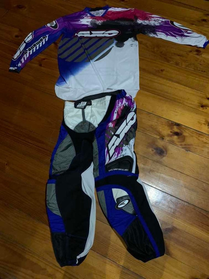 Pantalón Y Remera Axo Cross Usado