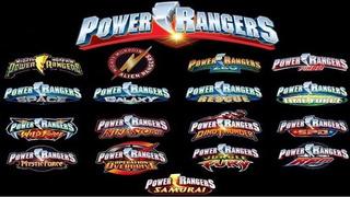 Power Rangers Coleccion - Series Digitales