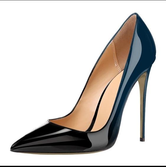 Sapato Feminino Salto Alto Scarpin Degradê