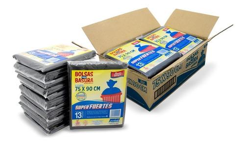 Polpusa Bolsa Basura Negra Biodegradable 75x90 C175 (156bol)