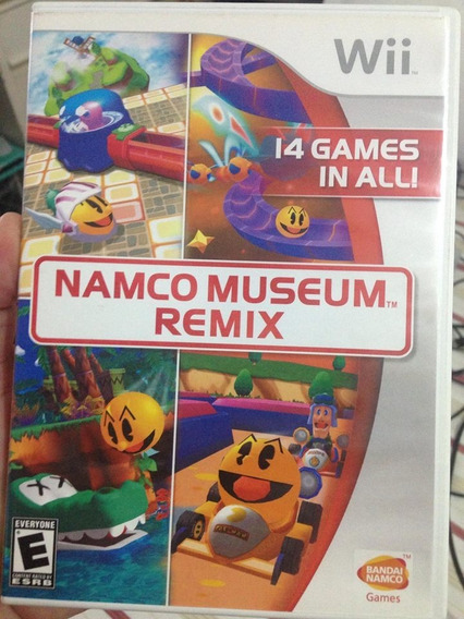 Nintendo Wii Namco Museum Remix Original Completo R$85,98