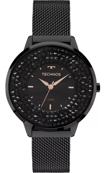 Relógio Technos Feminino Crystal 2035mlf/1p Original Barato