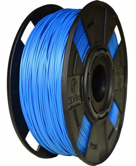 Filamento Pla 1,75 Mm Azul 1kg Para Impressora 3d