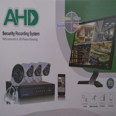 Kit Com 4 Câmeras Segurança Full Hd Monitoramento 24hs