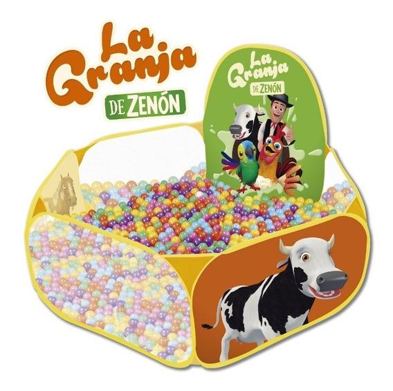 Pelotero Infantil 50 Pelotas La Granja De Zenon Babymovil