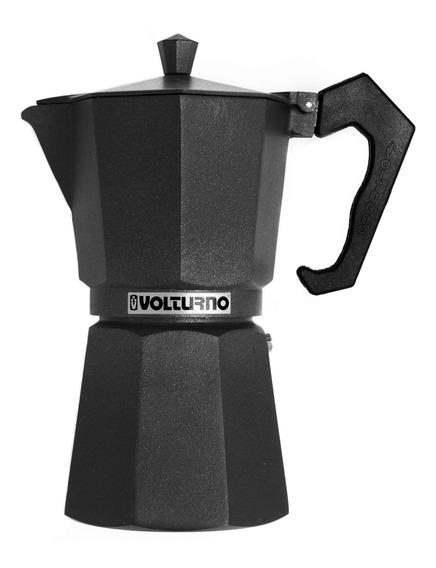 Cafetera Volturno Ebano 9 Pocillos Negra